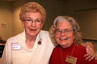 Marilyn Wahl and June Payne