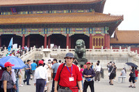 Jerry Snyder at the Forbidden City