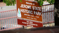 Entrance to Jerome State Historic Park